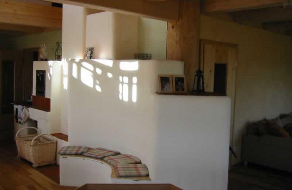 Wohn- und Bürohaus aus Massivholz in Egglham
