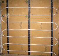 Wandheizung auf Holzweichfaserplatten