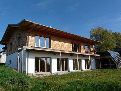 Wohnhaus mit Lehmputz