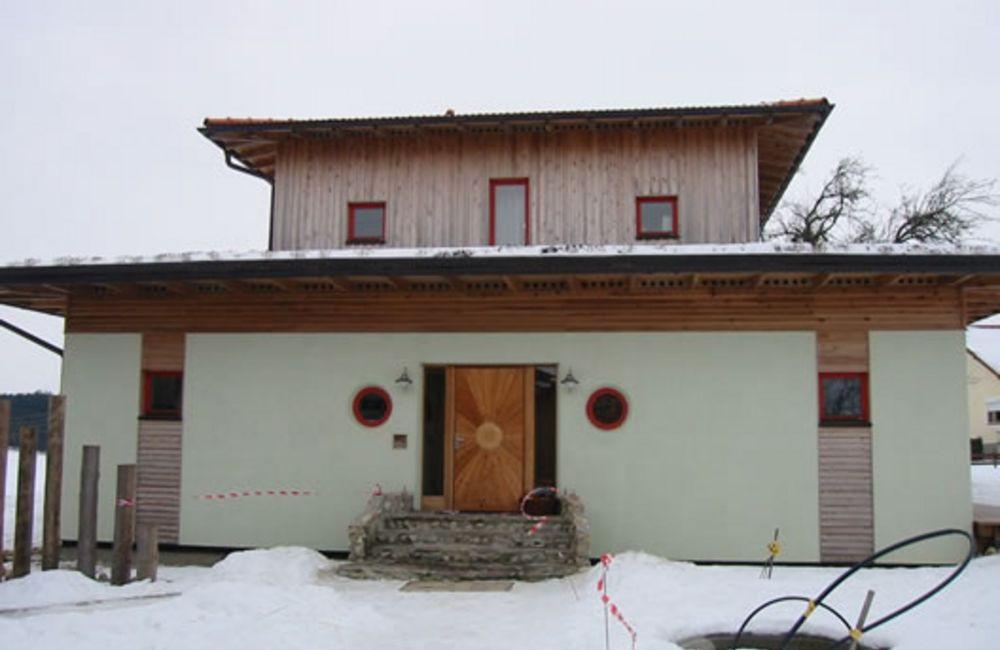 Wohnhaus nach FengShui in Polling bei Altheim