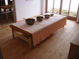Lehmputz Massagepraxis